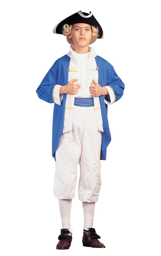Picture of Colonial Captain Child Costume