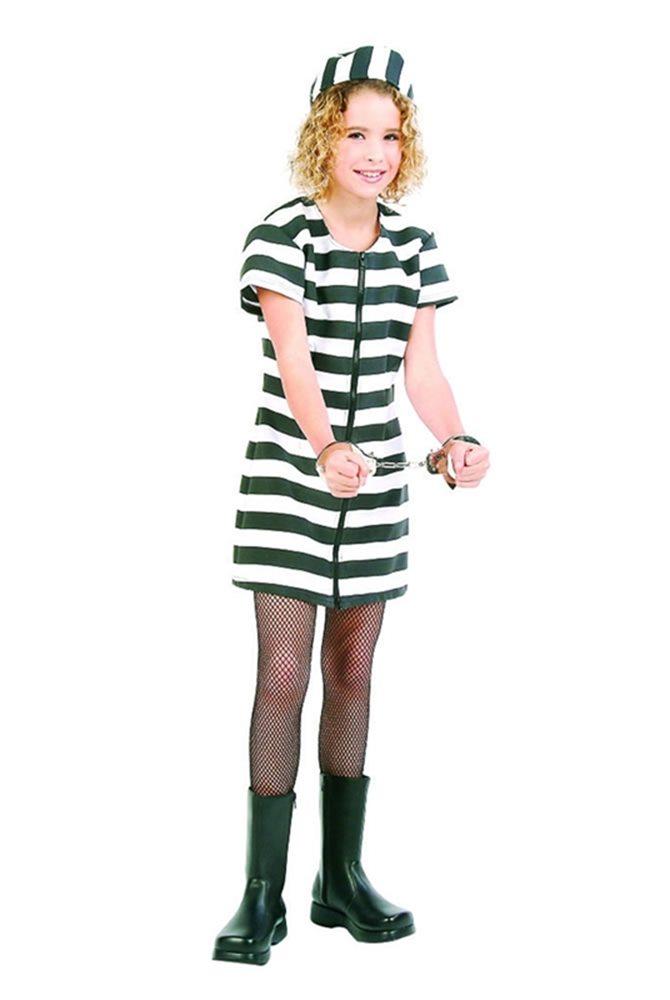 Picture of Deluxe Jail Bird Teen Costume