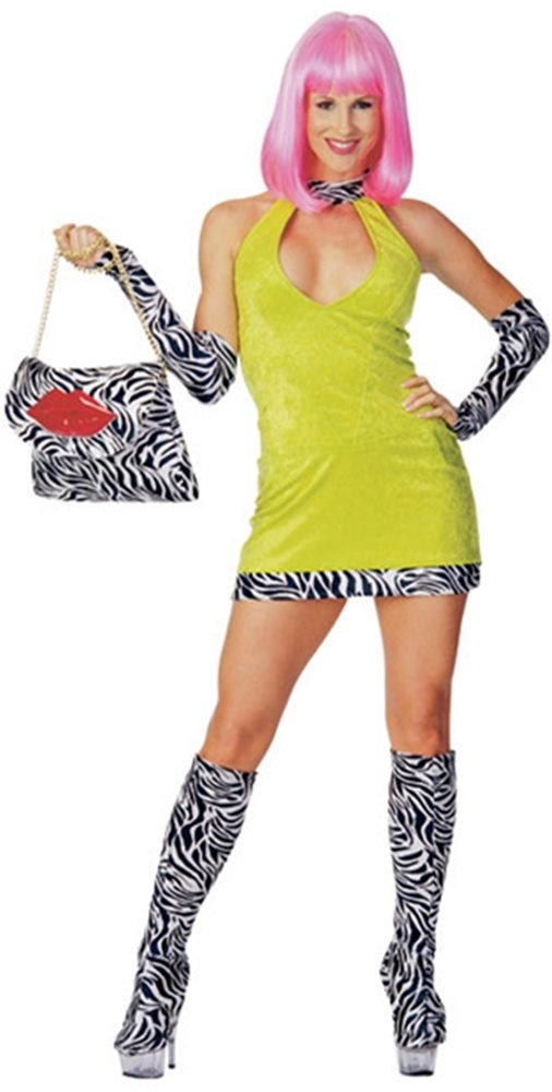 Picture of Deluxe Hot City Sweet And Sour Adult Women Costume