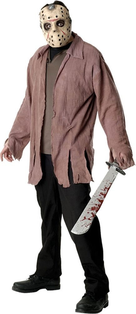 Picture of Deluxe Jason Adult Men Costume