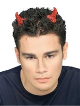 Picture of Red Glitter Devil Horns