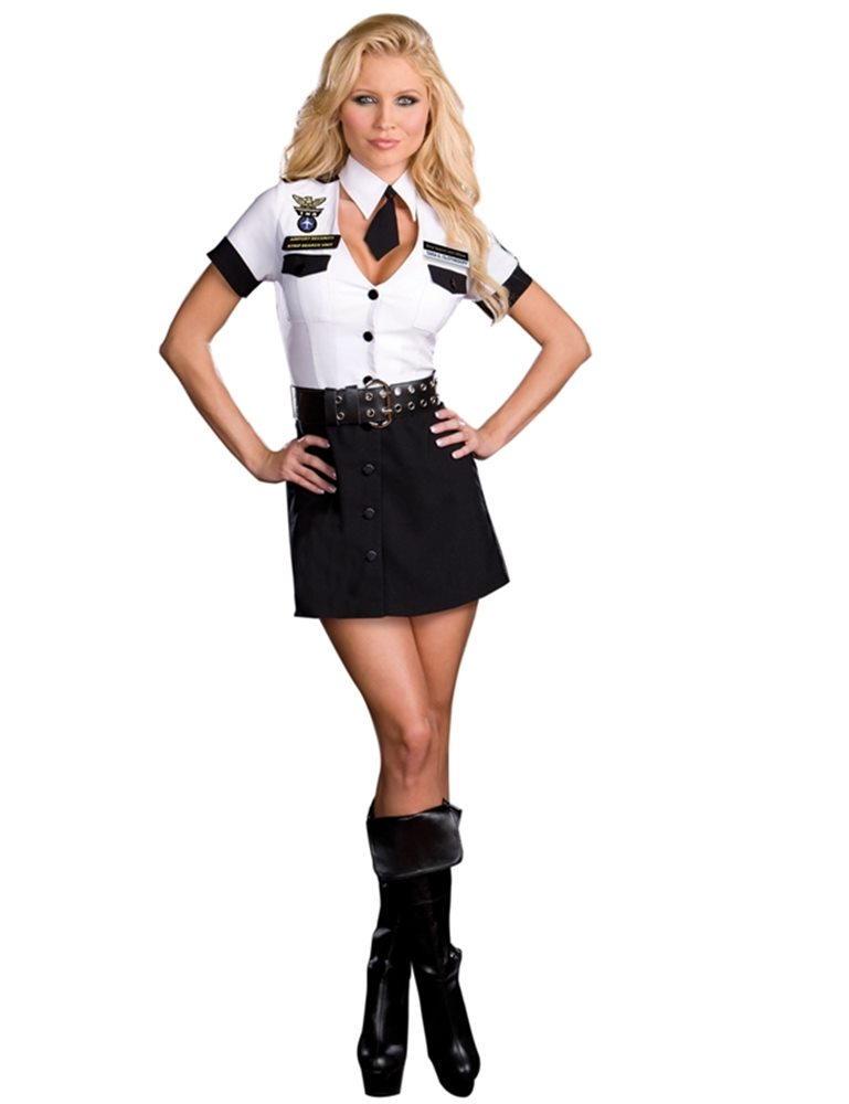 Picture of Officer Tara U Clothesoff Adult Womens Costume