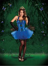 Picture of Royal Peacock Tutu Dress Adult Costume