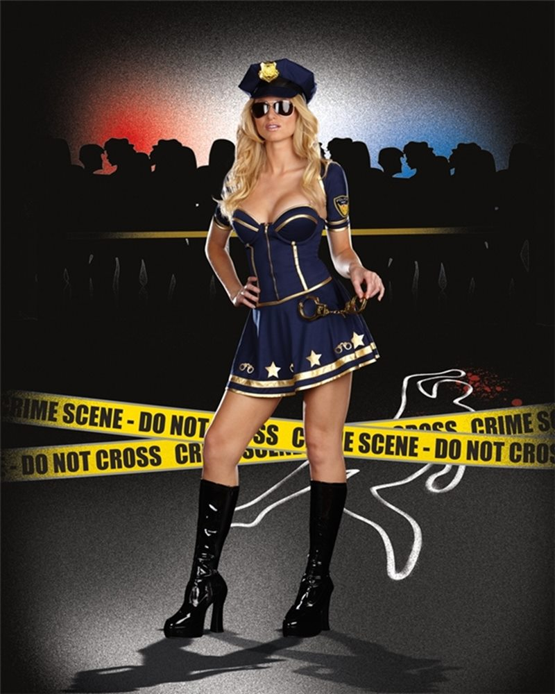 Picture of On Duty Cutie Adult Costume