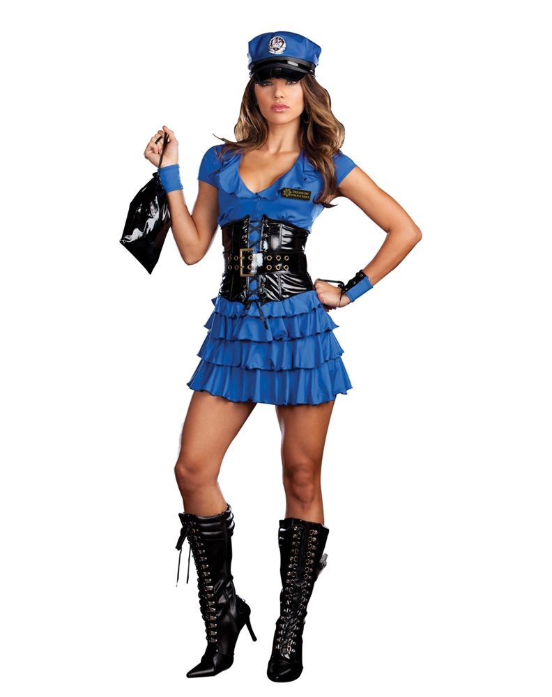 Picture of Late Night Patrol Adult Womens Costume