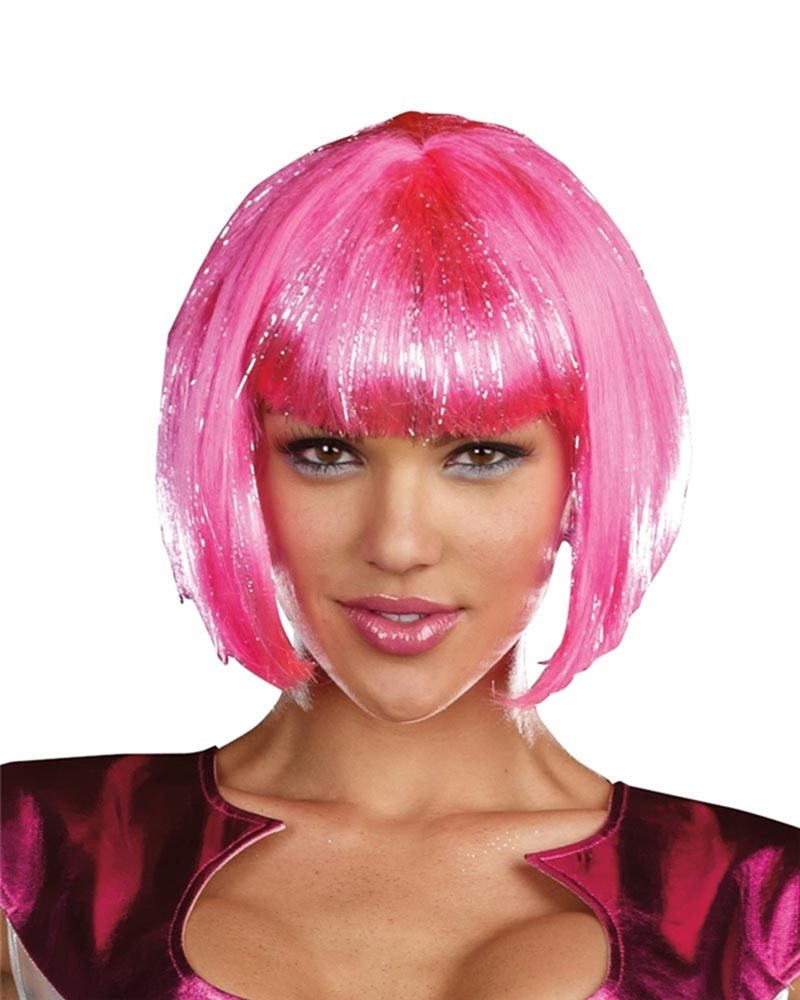 Picture of Hot Pink Adult Wig