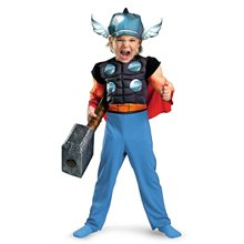 Picture of Marvel Thor Muscle Toddler Costume