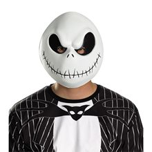 Picture of Jack Skellington Adult Mask