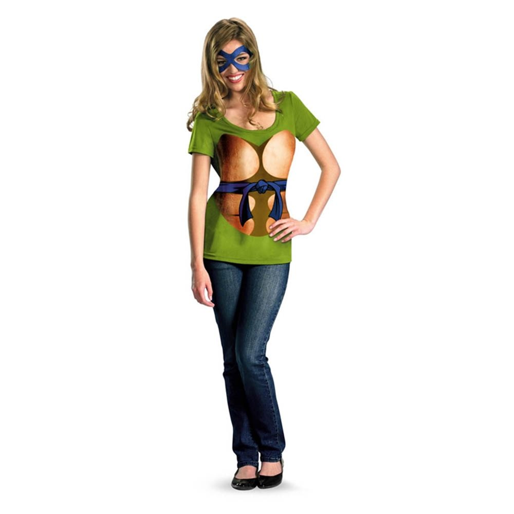 Picture of TMNT Leonardo Juniors T-Shirt & Mask