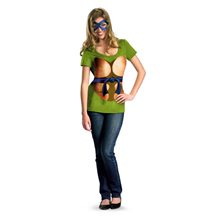 Picture of TMNT Leonardo Juniors T-Shirt & Mask