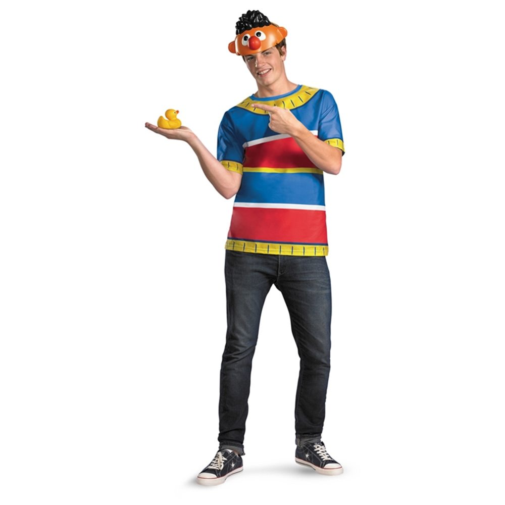 Picture of Sesame Street Ernie T-Shirt Plus Size Adult Mens Costume