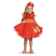 Picture of Frilly Elmo Dress Toddler Costume