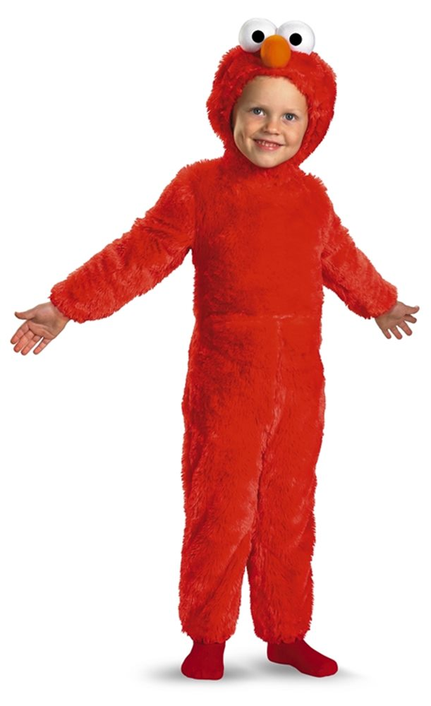 Picture of Elmo Plush Jumpsuit Infant & Toddler Costume