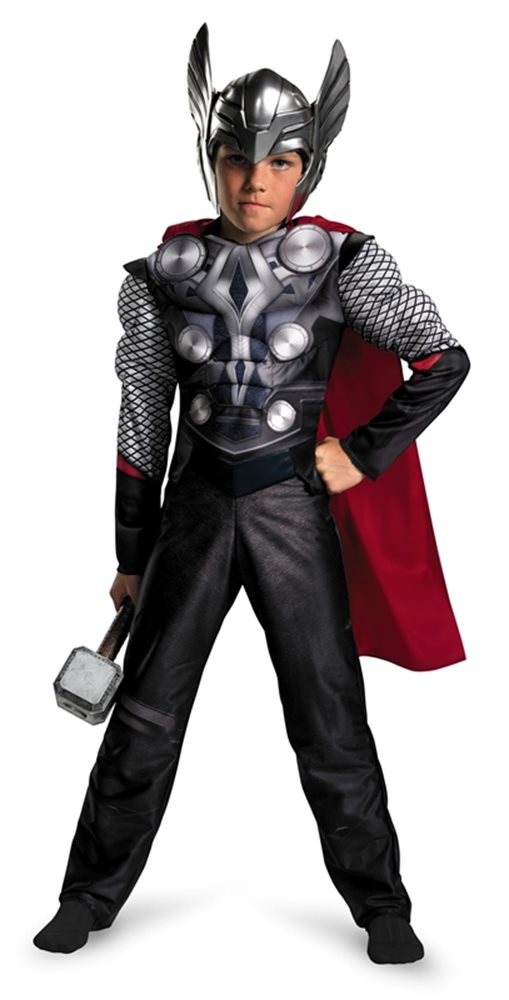 Picture of Marvel Thor Muscle Child Boys Costume