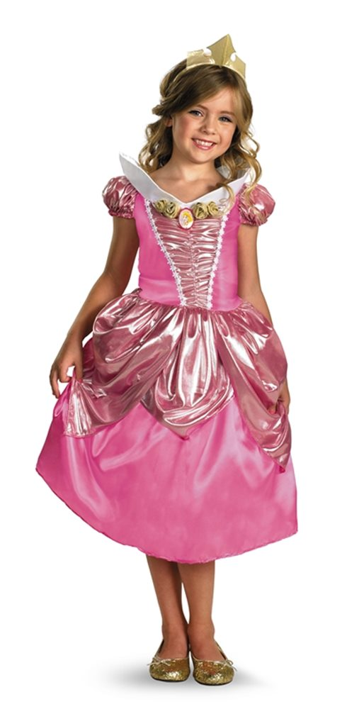Picture of Sleeping Beauty Deluxe Aurora Child Costume