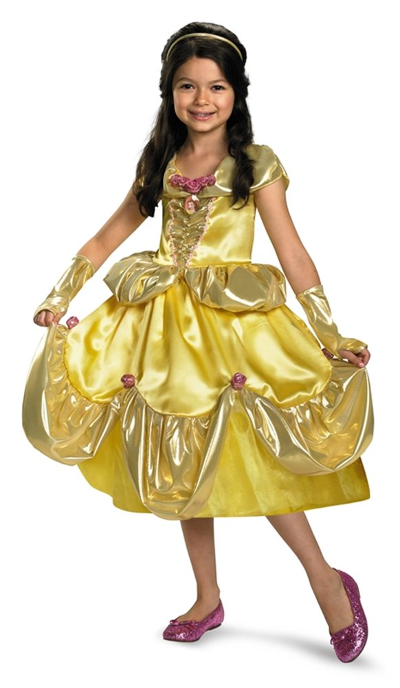 Picture of Disney Deluxe Belle Child Costume