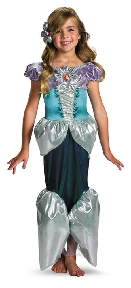 Picture of Deluxe Ariel Toddler & Child Costume