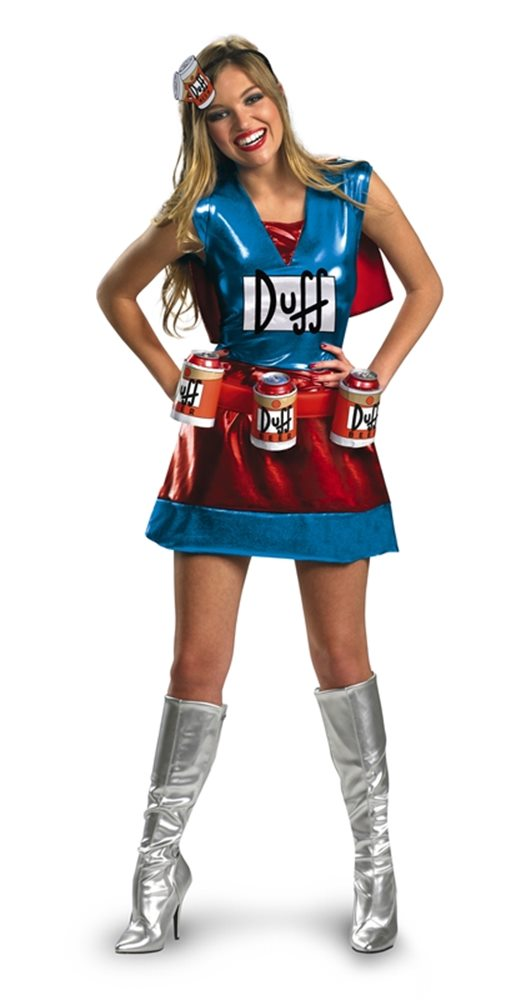 Picture of Simpsons Duffwoman Adult Womens Costume