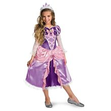 Picture of Disney Tangled Princess Rapunzel Shimmer Deluxe Child Costume