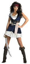 Picture of Sassy Captain Jack Sparrow Adult Womens Costume