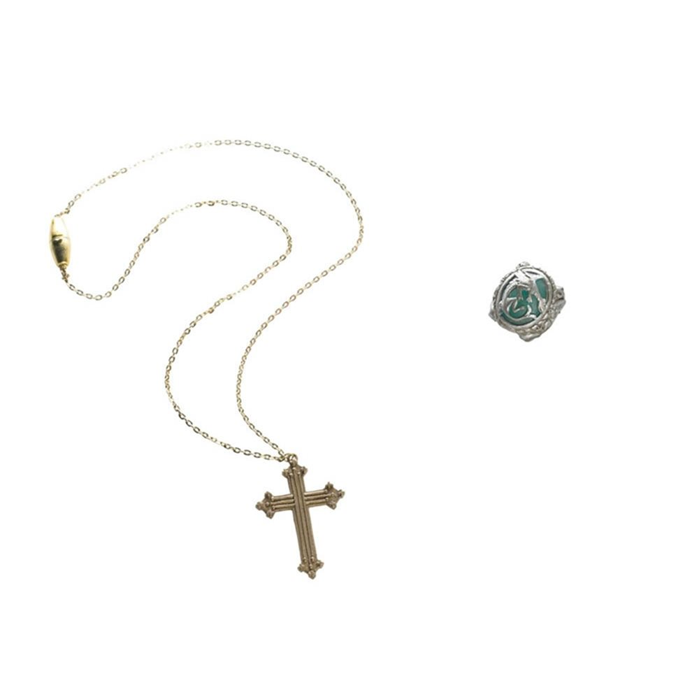 Picture of Angelica Cross Necklace and Ring Set