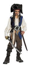 Picture of Captain Jack Sparrow Deluxe Child Costume