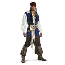 Picture of Captain Jack Sparrow Classic Adult Mens Costume
