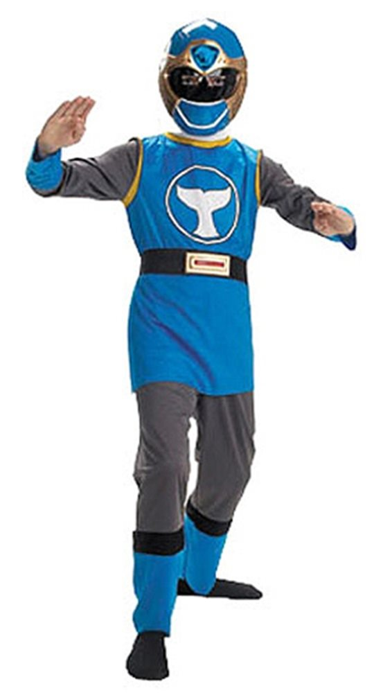 Picture of Deluxe Blue Ranger Child Costume
