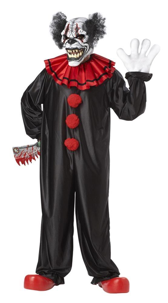 Picture of Last Laugh Evil Clown Adult Mens Costume
