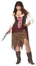 Picture of Buccaneer Beauty Adult Womens Plus Size Costume
