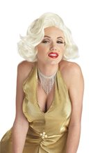Picture of Deluxe Marilyn Monroe Adult Wig