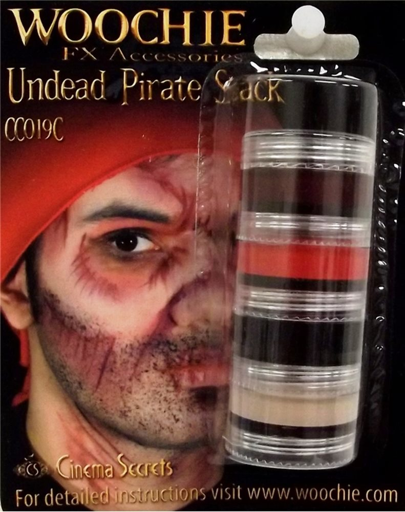 Picture of Undead Pirate Makeup Stack