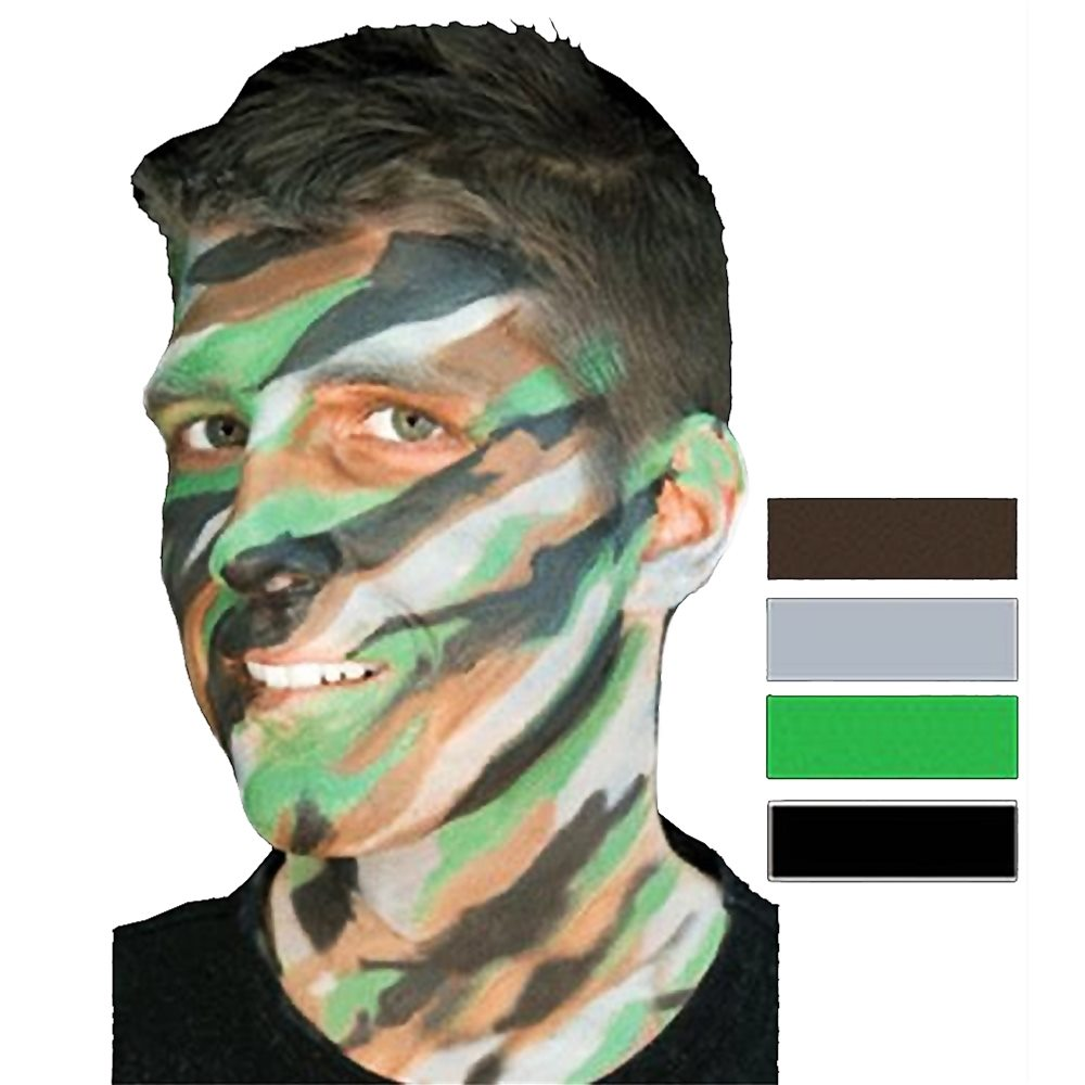 Picture of Jungle Camouflage Makeup Stack