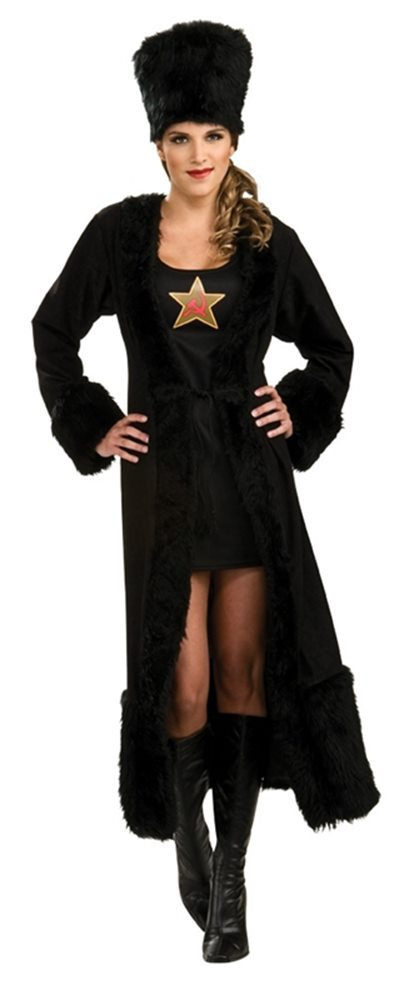 Picture of Black Russian Adult Womens Costume