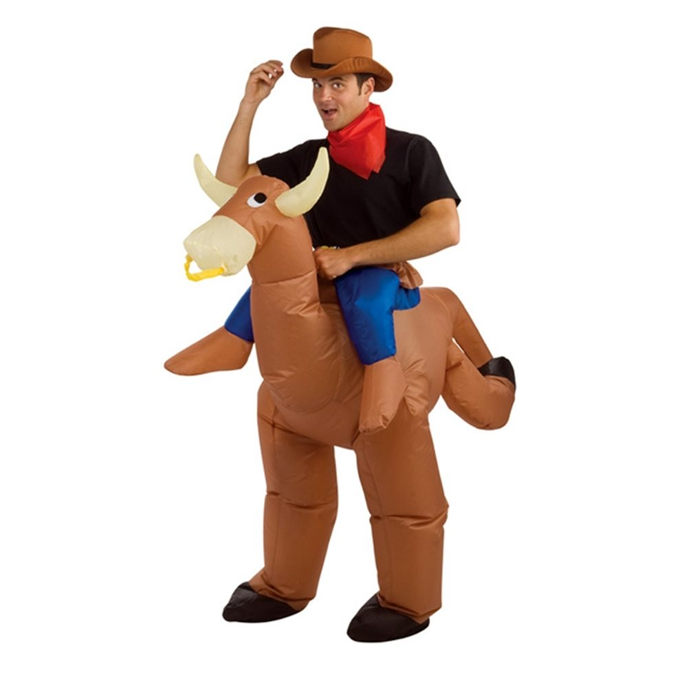 Picture of Inflatable Bull Rider Adult Unisex Costume
