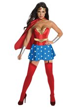 Picture of Sexy Wonder Woman Adult Womens Costume