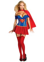 Picture of Justice League Supergirl Adult Womens Costume