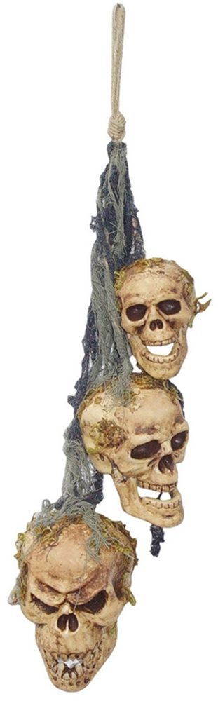 Picture of Hanging Rotten Skull Wind Chime