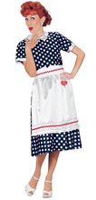 Picture of Lucy Polka Dot Dress Adult Womens Costume
