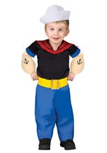 Picture of Popeye Toddler Costume