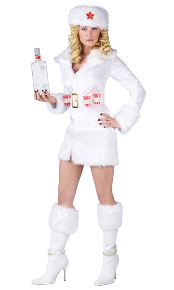 Picture of White Russian Adult Womens Costume