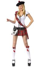 Picture of Scottie Hottie Adult Womens Costume