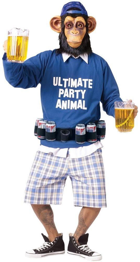 Picture of Ultimate Party Animal Adult Mens Costume