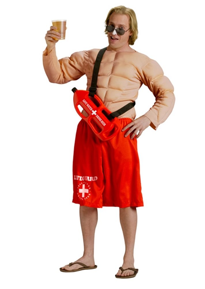 Picture of Off Duty Lifeguard Adult Costume