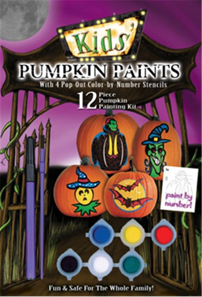 Picture of Kids Pumpkin Paints