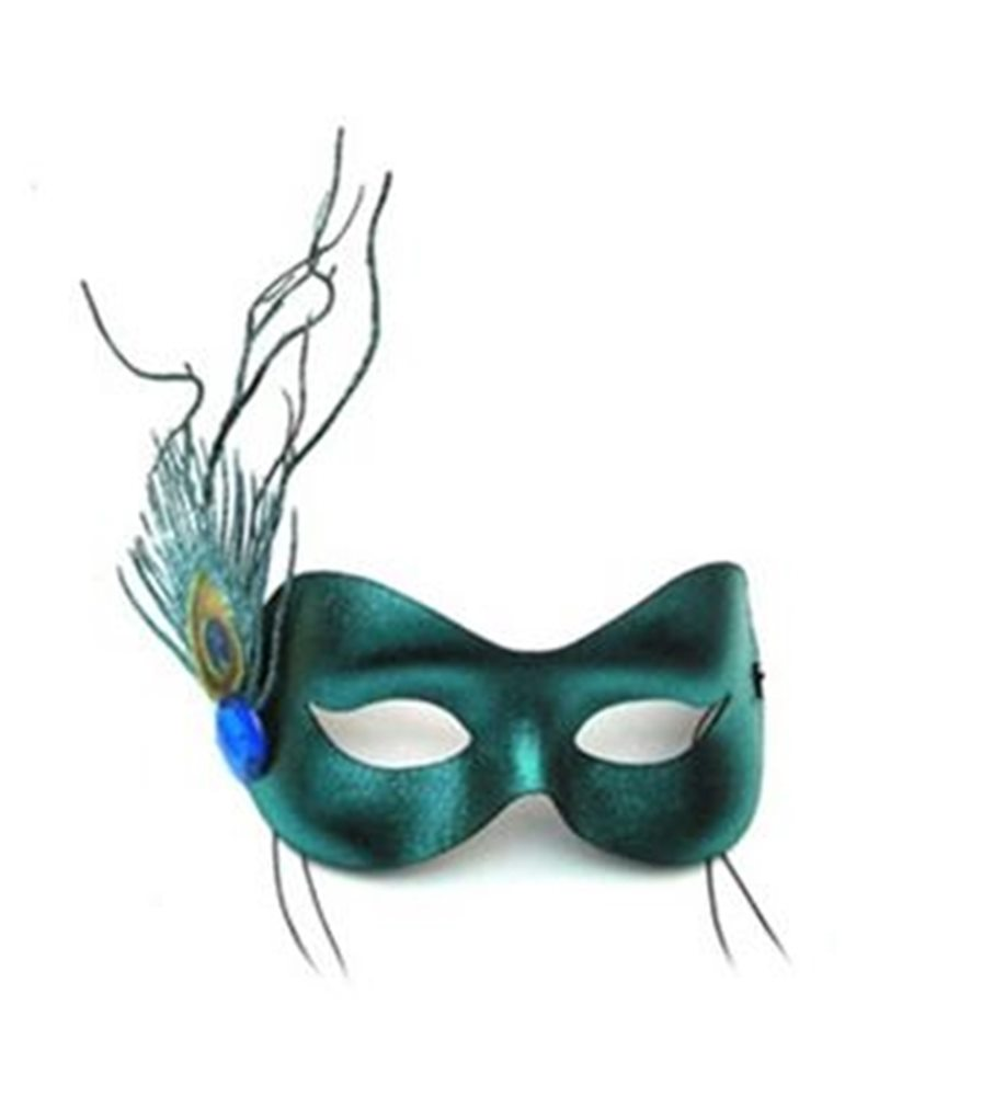 Picture of Sprite Teal Masquerade Adult Mask