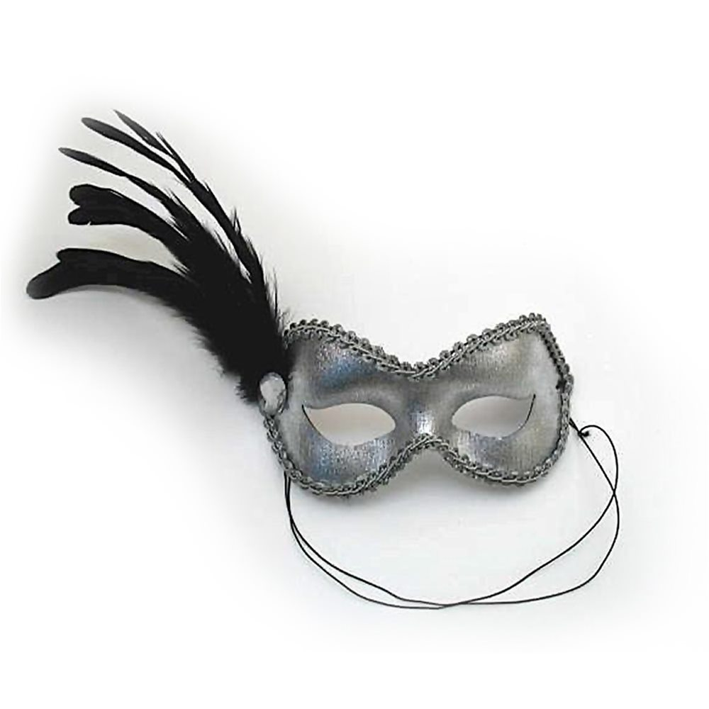 Picture of Silver Ballroom Adult Mask