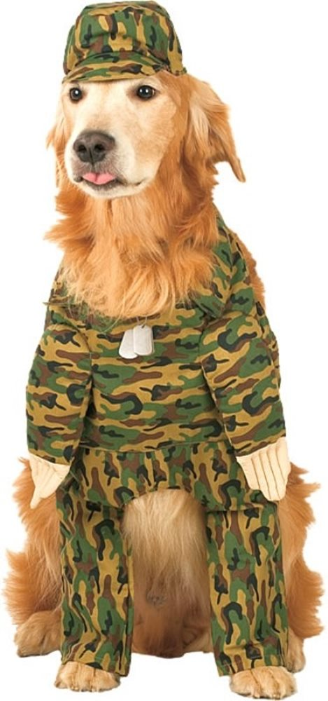 Picture of Rambark Army Pet Costume