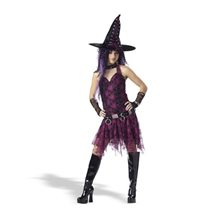 Picture of Deluxe Goth Witch Tween Costume