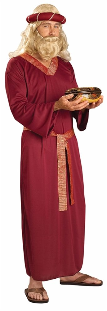 Picture of Burgundy Wiseman Adult Costume